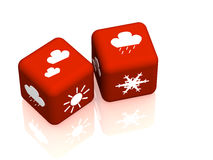 Weather forecast Royalty Free Stock Photography