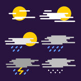 Weather forecast. Royalty Free Stock Photo