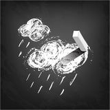 Weather Forecast - rain Stock Photos