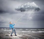 Weather forecasting Stock Photos