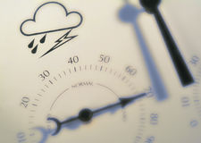 Weather gauge Stock Photos