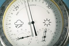 Weather Gauge close up royalty free stock image