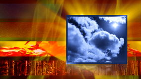 Weather generic for news stock footage