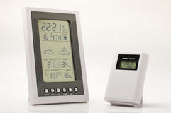 Weather and home climate monitoring equipment Royalty Free Stock Photography
