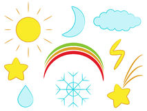 Weather icon Stock Image