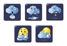 Weather icon. Stock Images