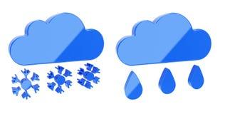 Weather icon Stock Photos