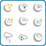Weather icon 3 stock photo