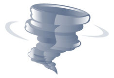 Weather icon clipart tornado cyclone illustration Stock Photography