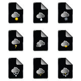 Weather icon color vector illustration Stock Photo
