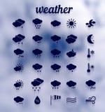 Weather icon set .Illustration eps10 Stock Photo