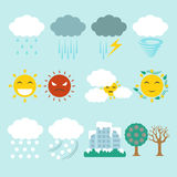 Weather icon Stock Image