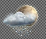 Weather icon Stock Photography