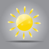 Weather Icon Vector Illustration for Your Design Royalty Free Stock Photos