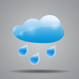 Weather Icon Vector Illustration for Your Design Royalty Free Stock Image
