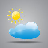 Weather Icon Vector Illustration for Your Design Stock Image
