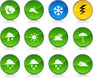 Weather  icons. Stock Photo