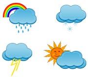 weather icons Stock Image