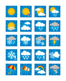 Weather Icons - Day Stock Images