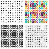 100 weather icons set vector variant. 100 weather icons set vector in 4 variant for any web design isolated on white Vector Illustration