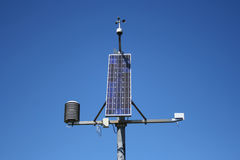 Weather monitoring station Royalty Free Stock Photo