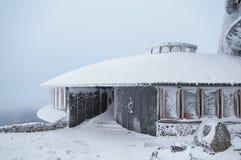 Weather observatory, Karkonosze Stock Photo