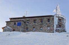 Weather Observatory in Kasprowy Wierch in Zakopane  in winter Stock Photography