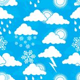 Weather pattern, vector Stock Photos