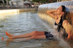 Weather photos - Heat wave Stock Images