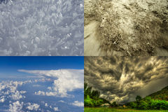 Weather photos in the nature Stock Images