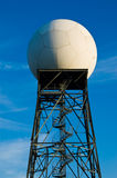 Weather radar station Stock Images