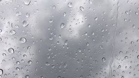 Rain Drops Background stock video footage