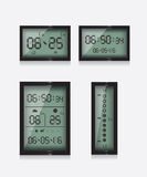 Weather report station Royalty Free Stock Photography
