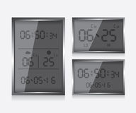 Weather report station illustration Stock Photos