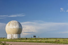 Weather research radar Royalty Free Stock Image