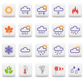 Weather and seasons icons