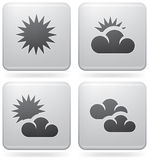 Weather Set Stock Image