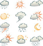Weather signs Royalty Free Stock Image