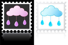Weather stamps Stock Photos
