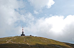 Weather station In Bucegi Mountains Stock Image