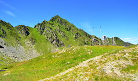 Weather station - Carpathians mountains Royalty Free Stock Photography