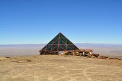 Weather Station on Chacaltaya near La Paz, Bolivia Stock Image