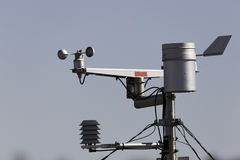 Weather station close up Royalty Free Stock Images