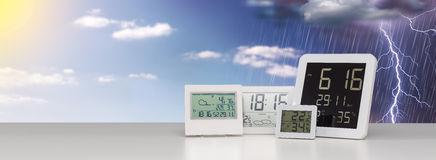 Weather station device. Stock Photography