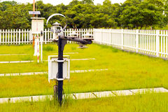 Weather station Stock Images