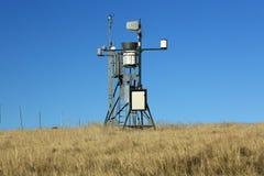 Weather station, giant mountains, (czech: Krkonose, Pec pod Snezkou), the northern part of the Czech Republic Stock Images