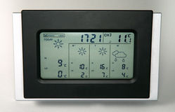 Weather station home Stock Image