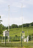 Weather station Stock Image
