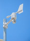 Weather Station Mounted on Pole Royalty Free Stock Photo