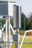 Weather station probes Royalty Free Stock Photos